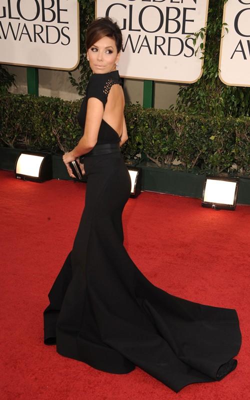 eva longoria dresses 2011. Golden Globes 2011::Eva