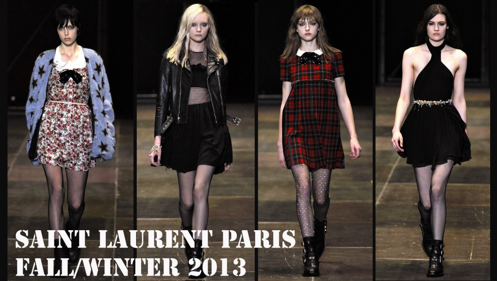 Saint Laurent Fall-Winter 2013