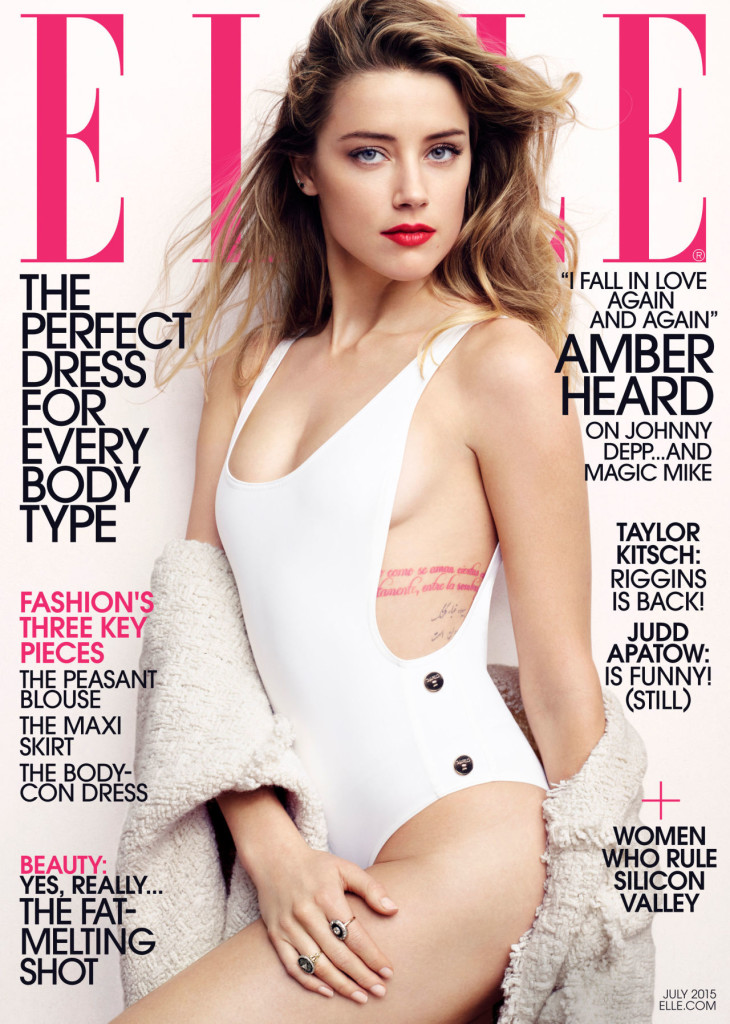 Amber Heard ELLE. Monday Musings - link roundup