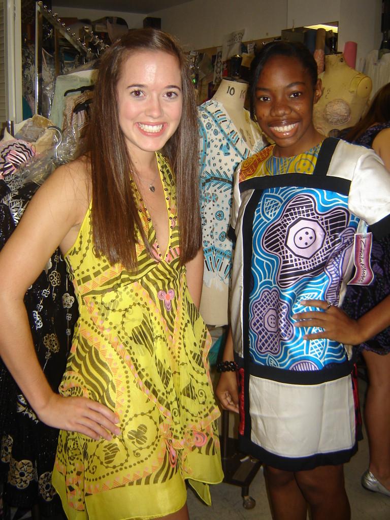 YSL Mondrian dress, Zandra Rhodes