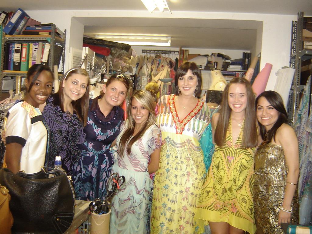 zandra rhodes, fashion study abroad