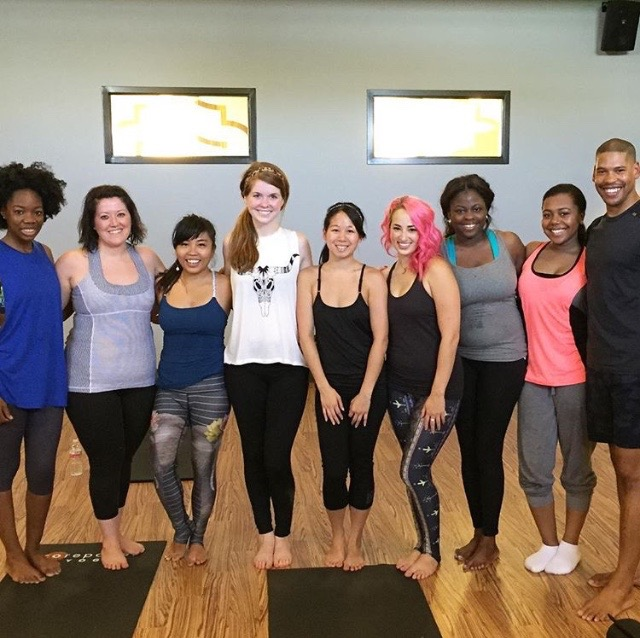 hot yoga at core power yoga