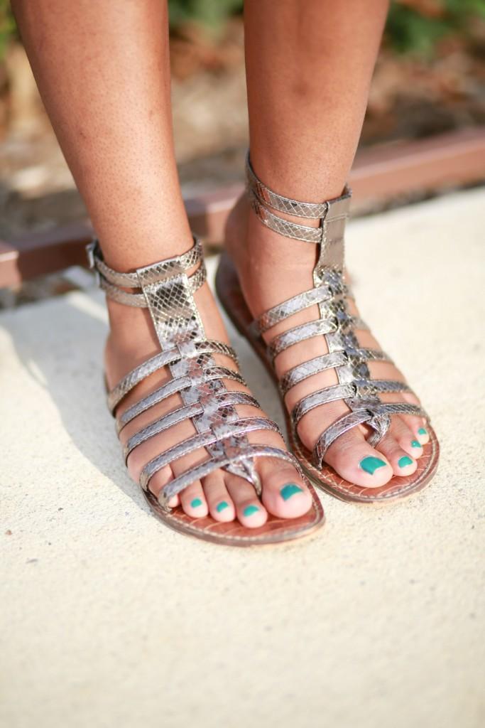 gladiator sandals, sam edelman, sam edelman sandals, summer sandals