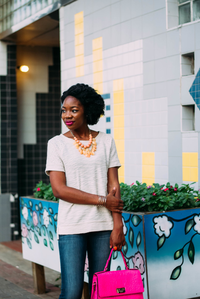 jeans, flare jeans, flares, fall outfit, outfit inspiration, natural hair, curls, twistout