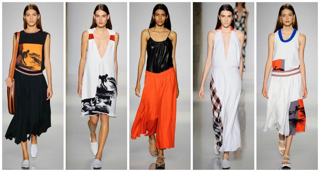 victoria beckham, runway, new york fashion week, victoria beckham spring 2016, spring 2016, ss16